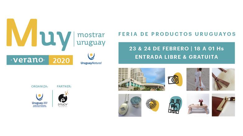 Llega la segunda edición de la Feria MUY: esta vez es en Carnaval y en el Enjoy Punta del Este