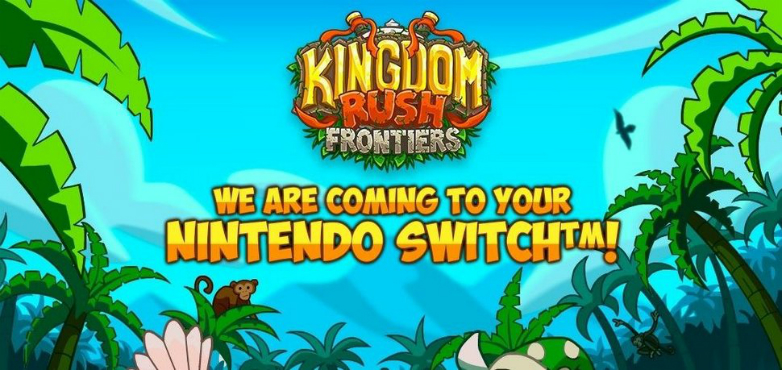 Otro videojuego uruguayo llega a Nintendo Switch: Kingdom Rush Frontiers