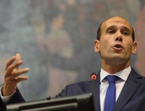 """""""Hoy empezamos a rendir cuentas"""": El diputado Martín Lema asumió la presidencia de la Cámara de Representantes."""
