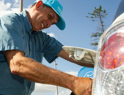 Centros de recarga para vehículos eléctricos llegan a 50 en 16 departamentos de Uruguay