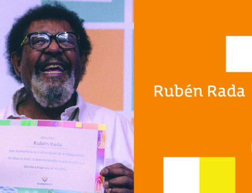 El querido Negro Rada es el nuevo embajador de marca país Uruguay