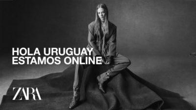 Zara lanza su tienda online en Uruguay