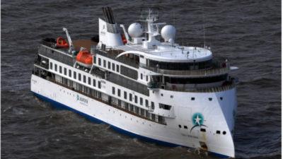 Vuelo humanitario evacuará a pasajeros que continúan en el crucero Greg Mortimer