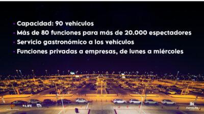 El aeropuerto de Carrasco y el faro de Punta Carretas se convertirán en autocines