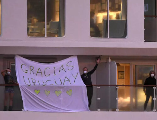 Carta de amor a Uruguay desde un barco