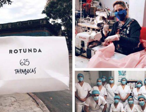 Los tapabocas de Rotunda: Crónica de un impulso