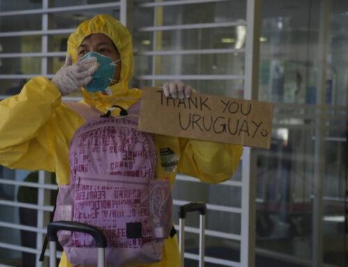 «Gracias Uruguay» y «casi volver a nacer»: así vivieron su traslado los tripulantes del Greg Mortimer