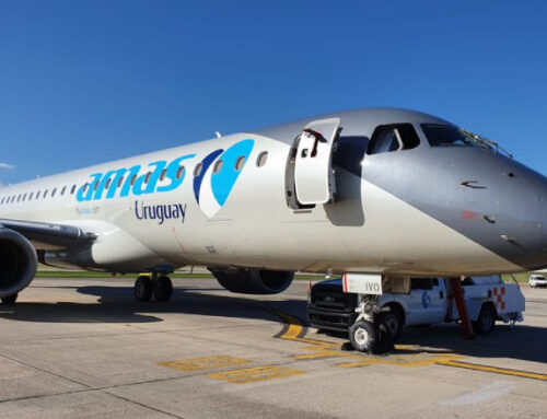 """Gerente de Amaszonas: """"Queremos ser la aerolínea que garantice la conectividad de Uruguay"""""""