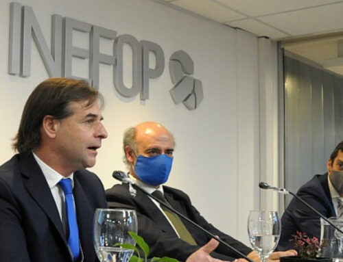 Lacalle en acuerdo entre Inefop y Microsoft: «El mundo moderno está diseñado para la capacidad uruguaya»