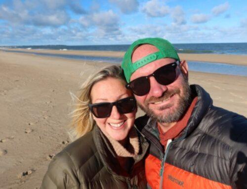 Pareja varada en Uruguay por la pandemia ahora planea quedarse en el país