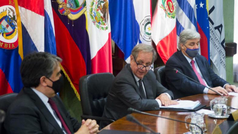 Sergio Abreu asumió la secretaría general de la Aladi