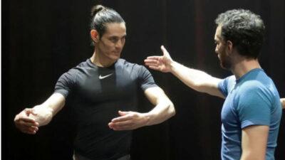 Futbolista y bailarín: Edinson Cavani promueve que más hombres se acerquen a la danza en Uruguay