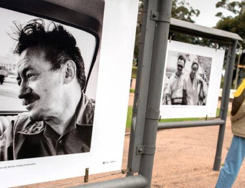 El comienzo de un siglo: este sábado se inauguró la muestra sobre Mario Benedetti en la fotogalería del Parque Rodó