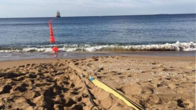 Antel y Google anunciaron que su cable submarino Tannat llegó a Argentina