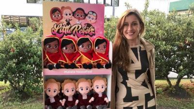 """La emprendedora uruguaya nominada a los """"Oscar"""" de los juguetes"""