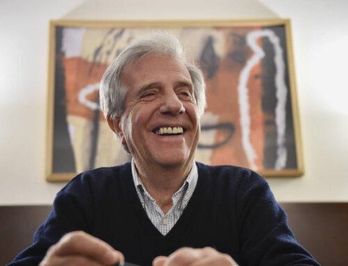 Todo el espectro político nacional se despidió de Tabaré Vázquez