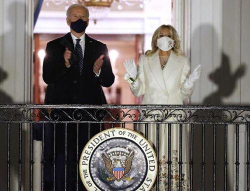 Jill Biden's inauguration concert outfit designed by Uruguayan Gabriela Hearst