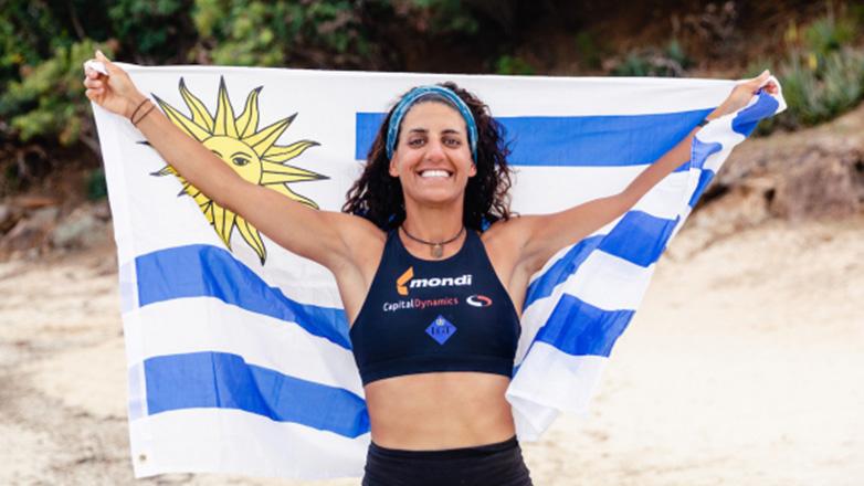 La uruguaya Sofía Deambrosi, primera mujer sudamericana en cruzar el Atlántico a remo