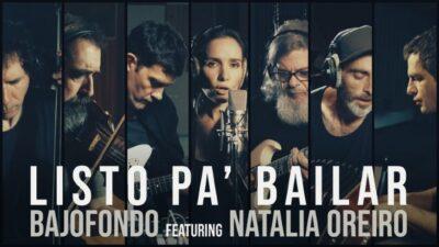 """Bajofondo y Natalia Oreiro cruzan fronteras con su nuevo single """"«Будем танцевать» Listo PaBailar"""""""