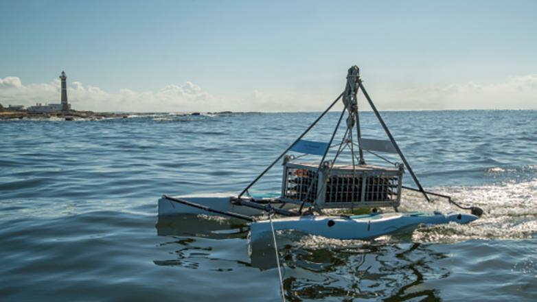 Los vinos estacionados en el mar de Bodega José Ignacio. Foto: Cortesía