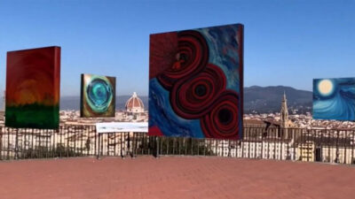 Una uruguaya expone su arte en una galería virtual en Florencia y podés verlo desde tu celular