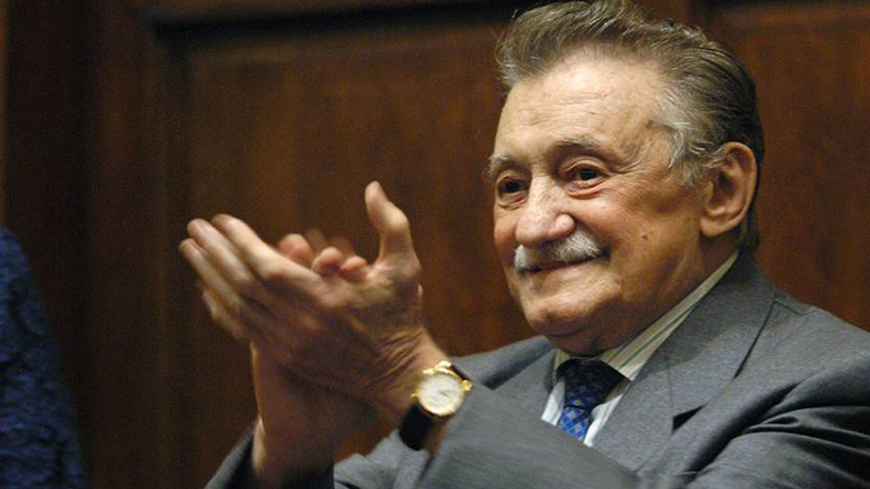 Mario Benedetti (archivo, marzo de 2004). Foto: Iván Franco